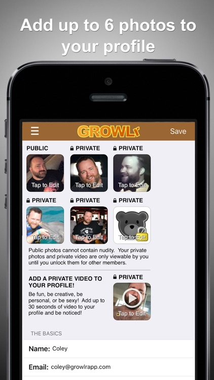GROWLr: Gay Bear Social Media