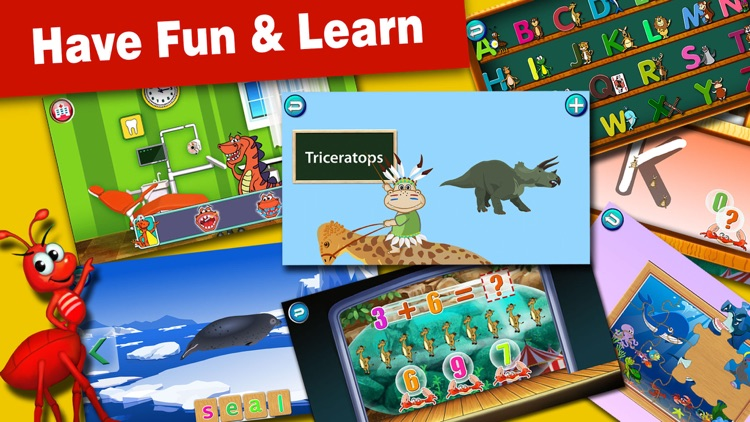 ABC Circus-Baby Learning Games