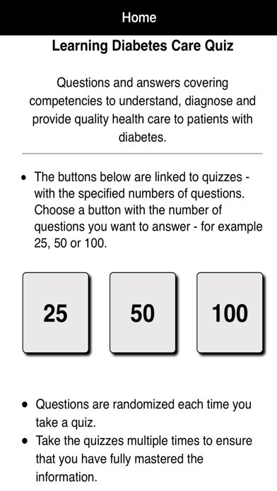 Learning Diabetes Care Quiz | App Price Drops