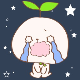 Cute Rabbit Tree Sticker