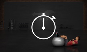 Fitness TV Timer by Esquio