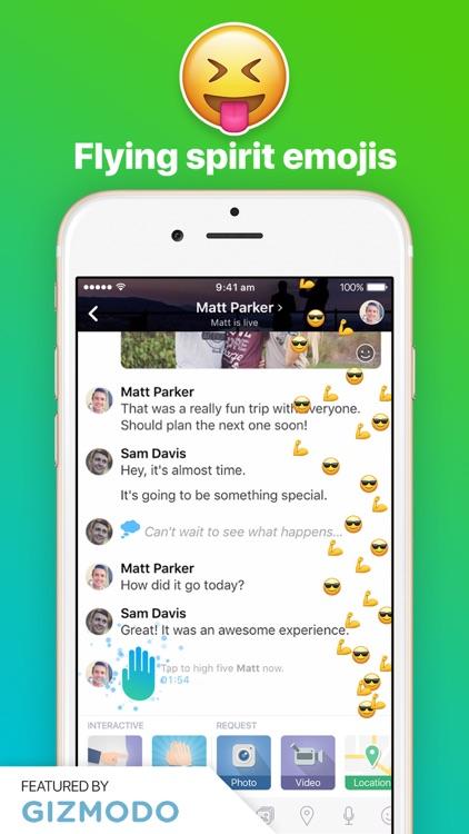 Amity Messenger screenshot-3