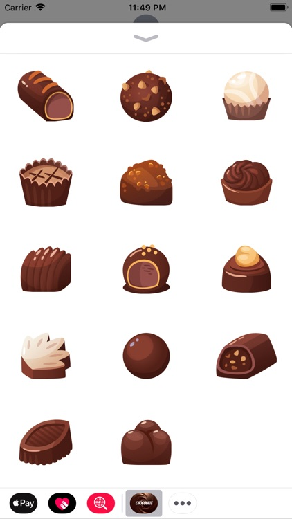 Chocolatey stickers