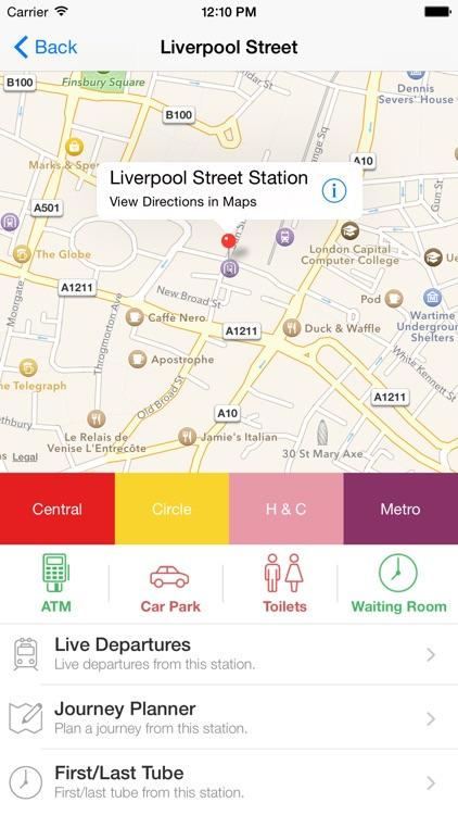 London Tube Live - Underground screenshot-4