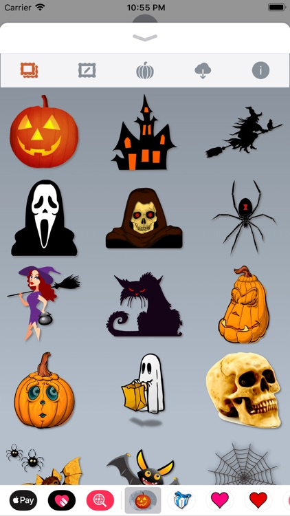 Happy Halloween • 140 stickers screenshot-1