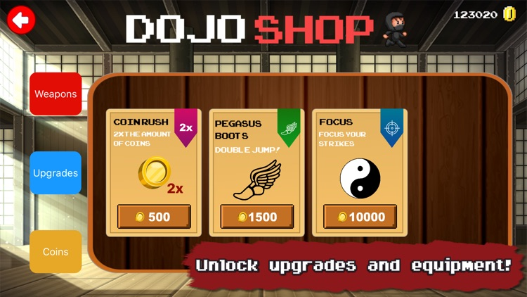 Dojo Defender: 8 Bit Samurai screenshot-3