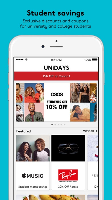 Download UNiDAYS: Student Deals for Pc