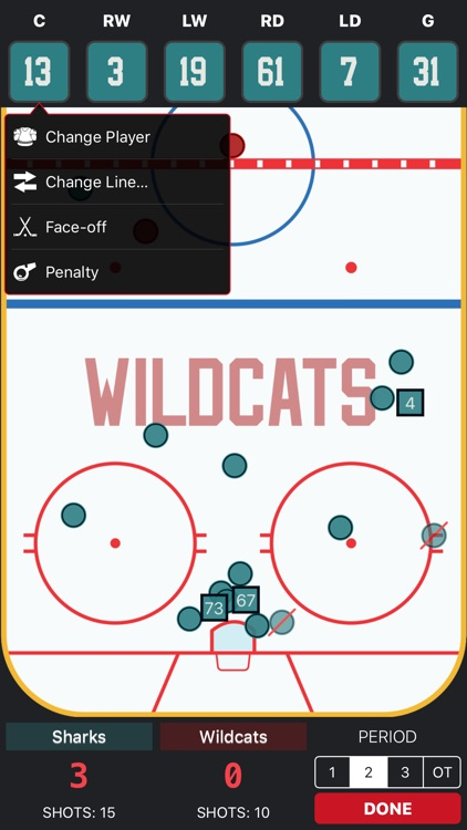 Goaliath Hockey Stats Tracker screenshot-7
