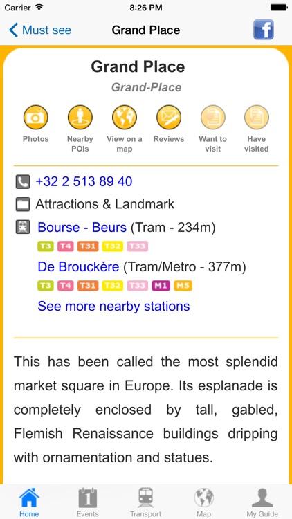 Brussels Travel Guide Offline screenshot-4