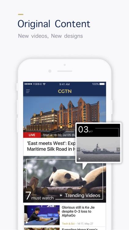 CGTN - China Global TV Network screenshot-0