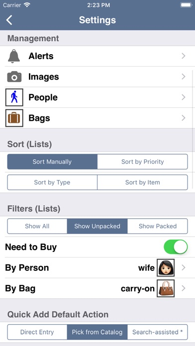 Packing ( To Do) review screenshots