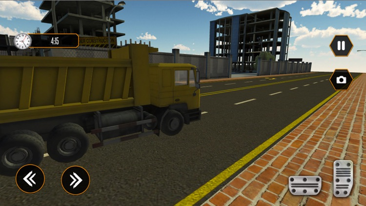 Rock Transporter- Truck Sim 3D screenshot-4