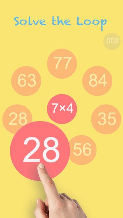Math Loops lite & Times Tables screenshot-0