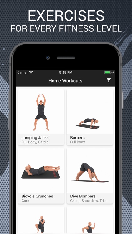 Home Workouts and Exercises screenshot-0