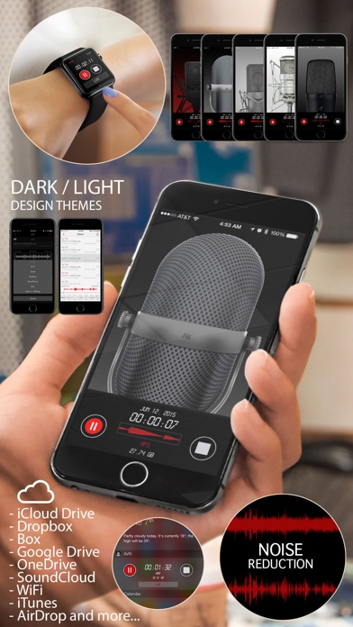 Awesome Voice Recorder PRO AVR Скриншоты3