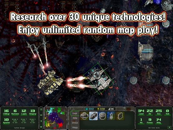 Land Air Sea Warfare HD RTS Screenshots