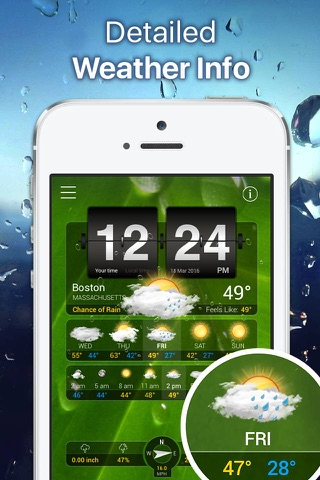 Weather+ screenshot 2