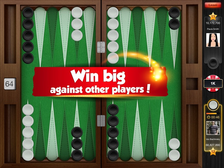 Backgammon HD Play Live Online