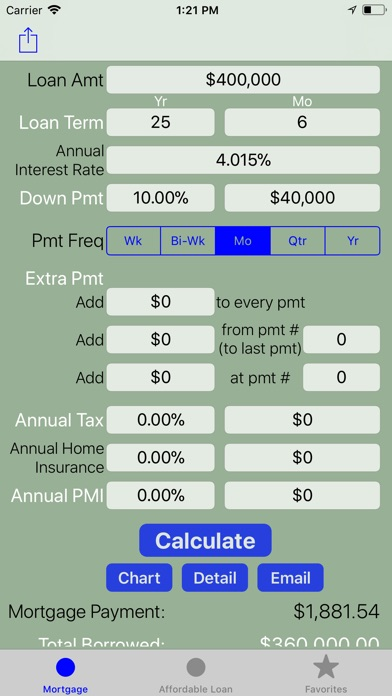 mortgage calculator home loan by giang pham ios united states