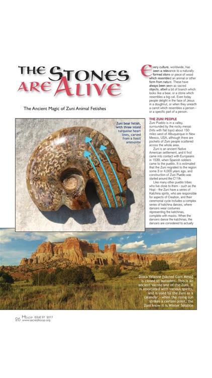 Sacred Hoop Magazine screenshot-4