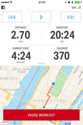 Map My Run by Under Armour screenshot 1