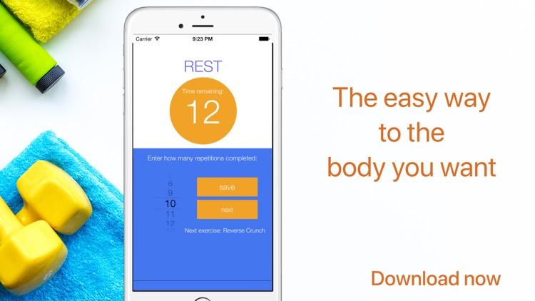 5 Minute Home Workout screenshot-3