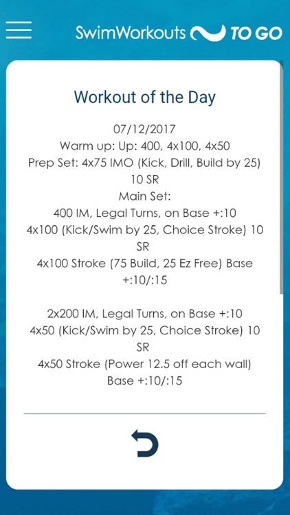 Swim Workouts To Go screenshot-2