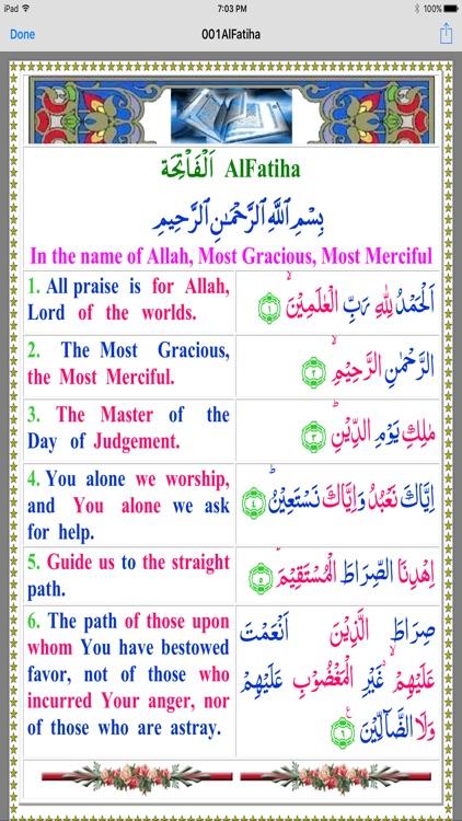 Quran in Colors Arb-Eng InPak