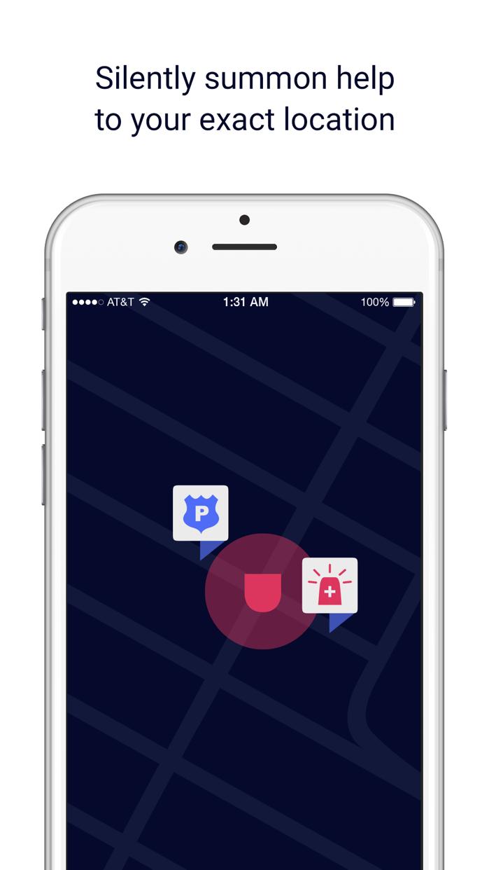 Noonlight - formerly SafeTrek Screenshot