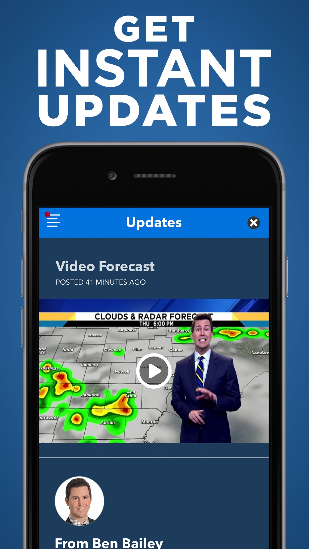 Local4Casters Weather - WDIV Screenshot