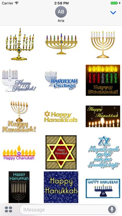 Animated Happy Hanukkah