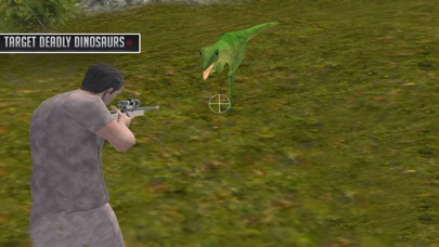 Experience Dino Forest Shootin screenshot one