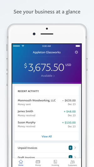 PayPal BusinessSend Invoices On The App Store - Send invoice from paypal app