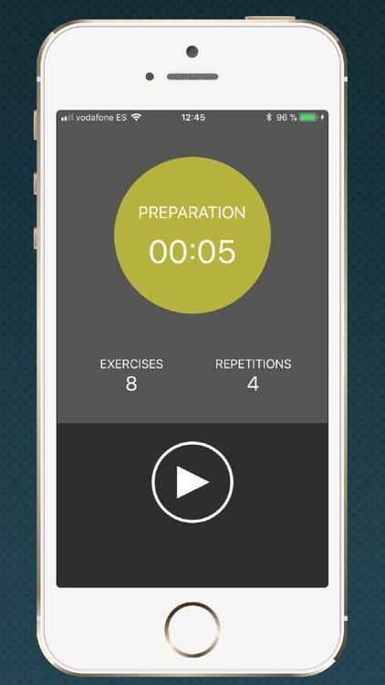 Timer for HIIT training screenshot-4