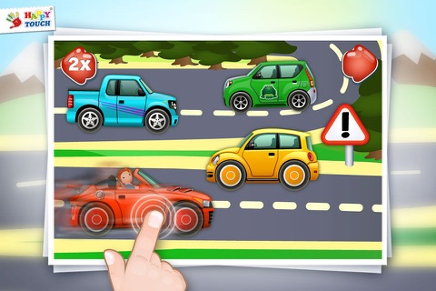 Animated Cars - Baby App by HAPPYTOUCH® - náhled