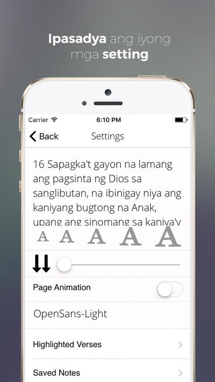 Get Tagalog Bible screenshot-4