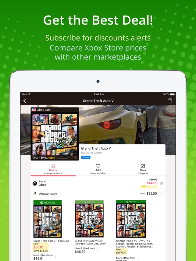 XB Deals on the App Store