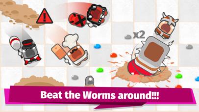 Smashers.io Foes in Worms Land screenshot 2