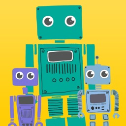 Robot Family - Stickers