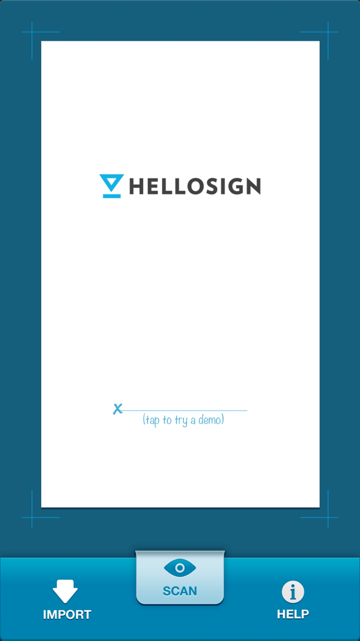 HelloSign Screenshot