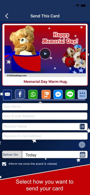 Memorial day greetings on the app store m4hsunfo