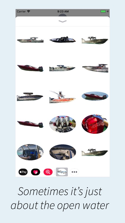 SoFloBoat Stickers