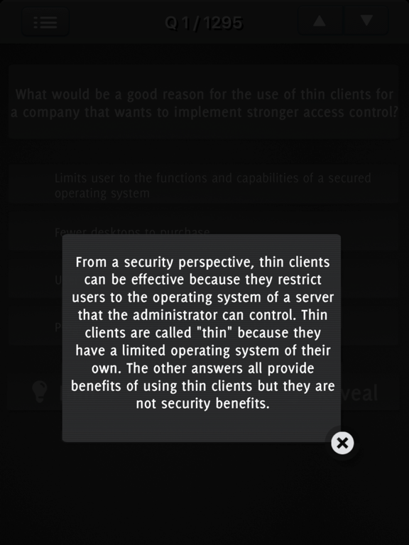 CISSP Exam Questions screenshot 10