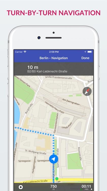 Berlin Offline Map & Guide screenshot-3