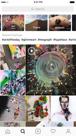 Instagram screenshot for iPhone
