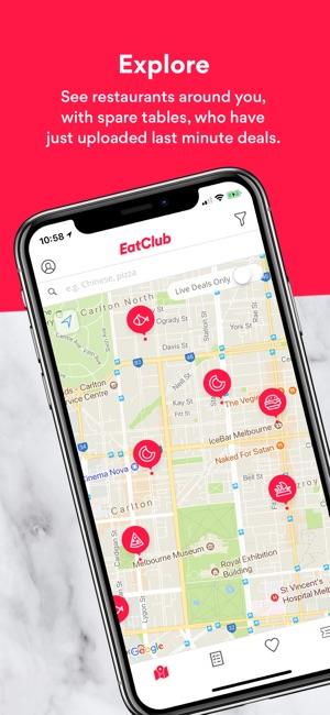 Eatclub Live Restaurant Deals On The App Store