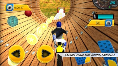 Bike Stunt Trail Master screenshot one