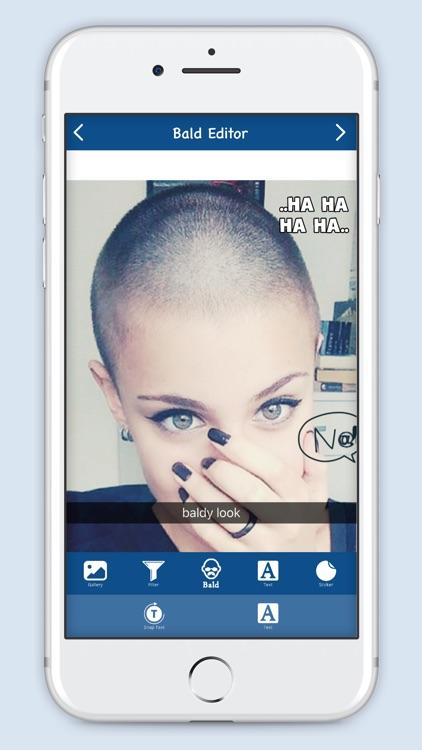 Bald Editor : Hipster Style screenshot-4