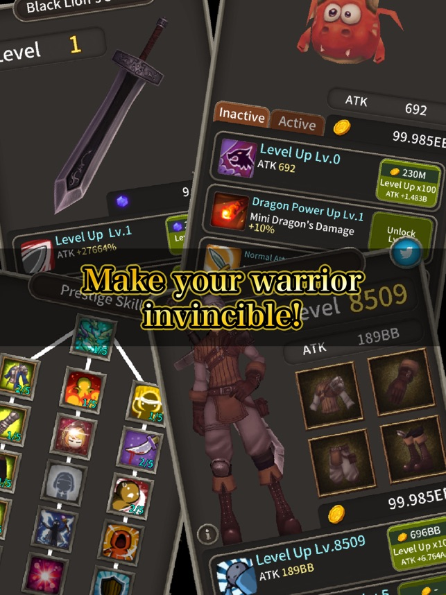 Blade of Dungeon, game for IOS