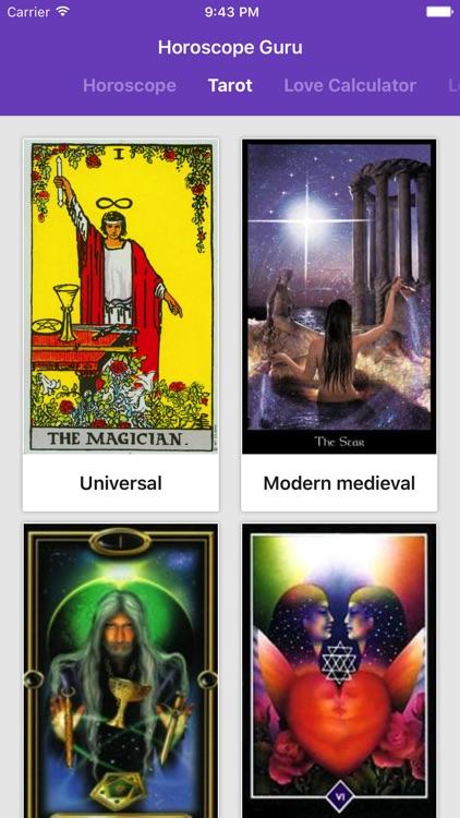 Daily Horoscope & Tarot